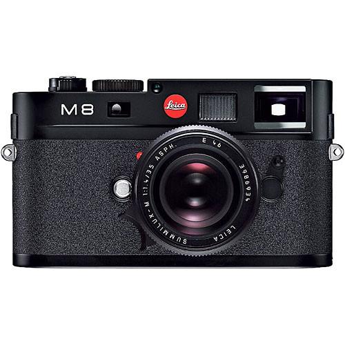 Leica M8 Rangefinder Digital Camera Body (Black)