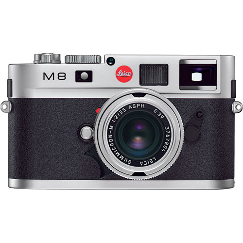 Leica M8 Rangefinder Digital Camera Body (Silver Chrome)