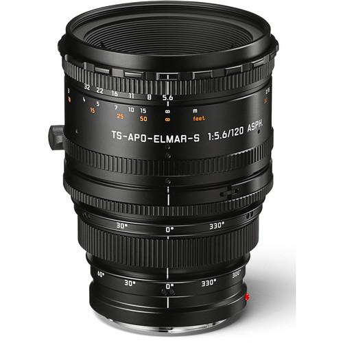 Leica 120mm f/5.6 TS-APO-Elmar-S ASPH. Lens