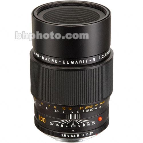 Leica Telephoto 100mm f/2.8 APO Elmarit R Macro MF Lens (w/ Rom Contacts)