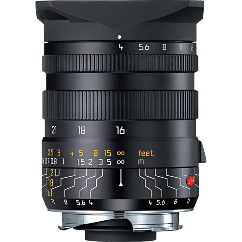 Leica Tri-Elmar-M 16-18-21mm f/4 Asph. Lens (6-Bit) w/Universal W/A Viewfinder