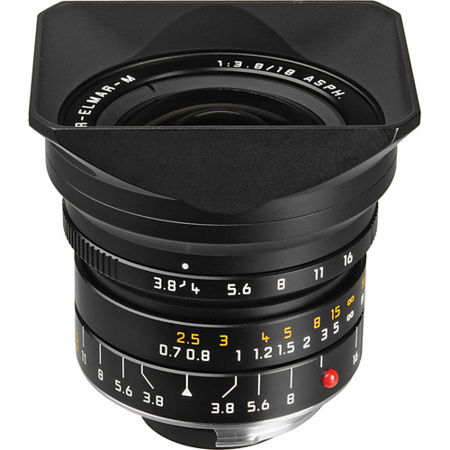 Leica 18mm f/3.8 Super-Elmar-M Aspherical Manual Focus Lens