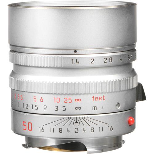 Leica Summilux-M 50mm f/1.4 ASPH. Lens (Silver)