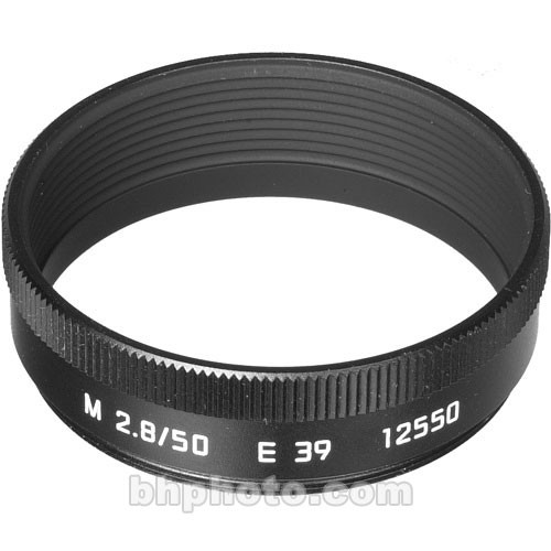 Leica Lens Hood for 50mm f/2.8 M (Black)