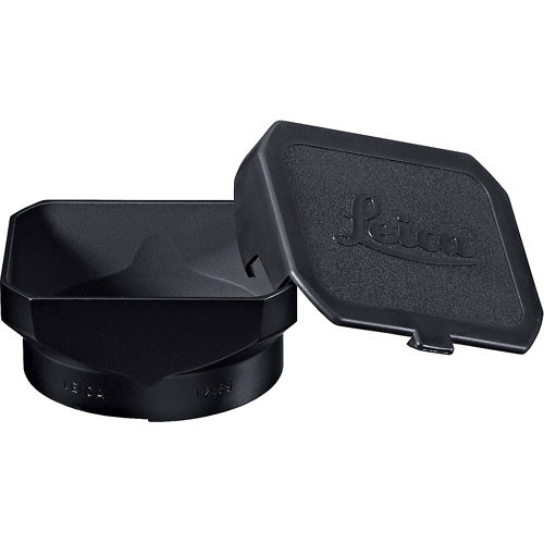 Leica Rectangular Metal Lens Hood With Cap