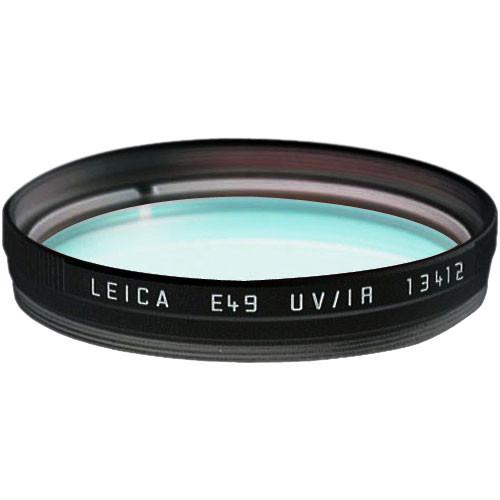 Leica E49 UVA/IR Glass Filter (Black)