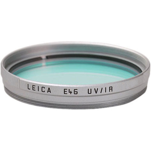 Leica E46 UVA/Infrared Filter (Silver)