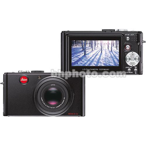 Leica D-LUX 3 Digital Camera (Black)