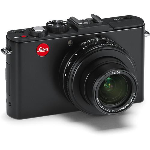 Leica D-LUX 6 Digital Camera (Matte Black)
