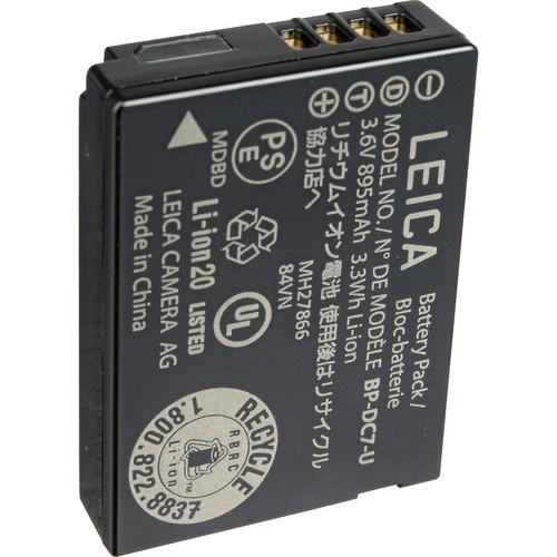 Leica BP-DC 7 U Lithium-Ion Battery For V-LUX 30 / 40 (3.6V, 895mAh)