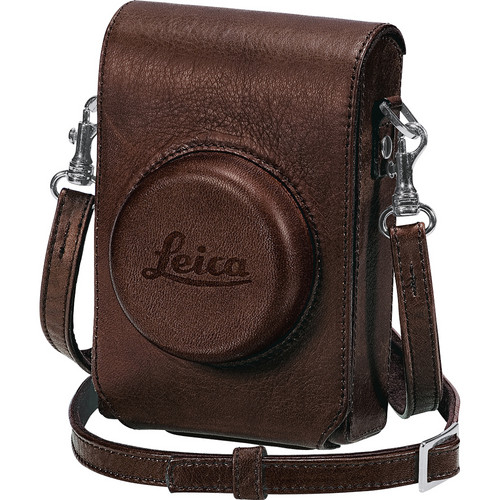 Leica D-Lux 5 Leather Case with Wrist Strap (Brown)