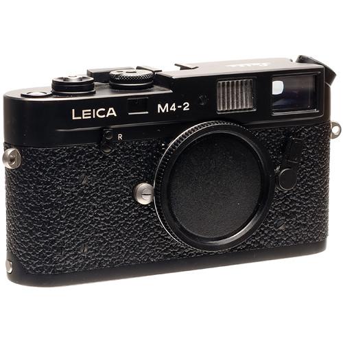Leica M4-2 35mm Rangefinder Camera Body - Black