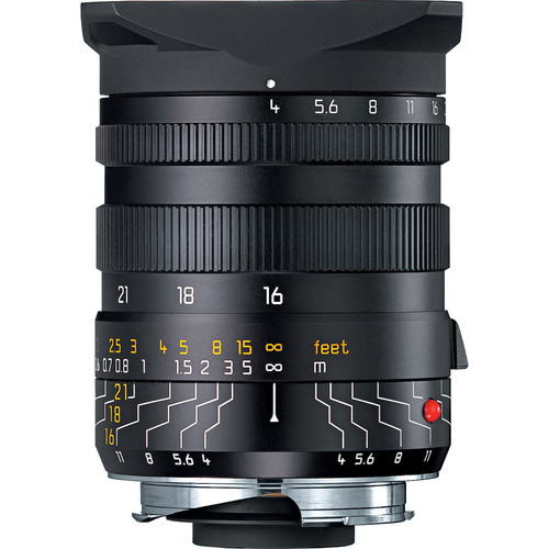 Leica Tri-Elmar-M 16-18-21mm f/4 ASPH. Lens with Universal Wide-Angle Viewfinder