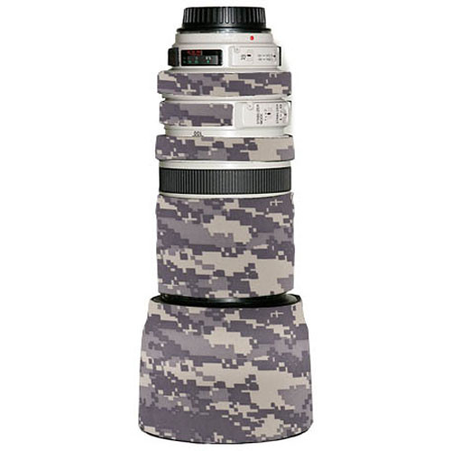 LensCoat Lens Cover for the Canon 100-400mm f/4-5.6 Lens (Digital Camo)