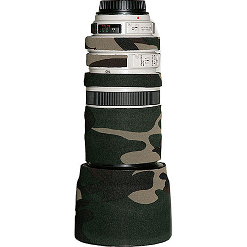 LensCoat Lens Cover for the Canon 100-400mm f/4-5.6 Lens (Forest Green)