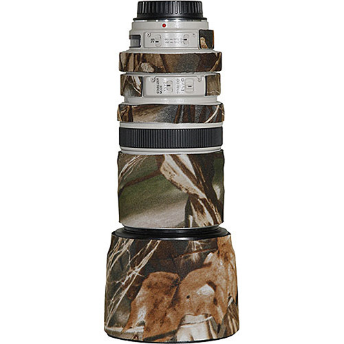 LensCoat Lens Cover for the Canon 100-400mm f/4-5.6 Lens (Realtree Max4 HD)