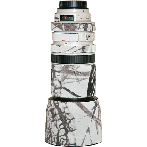 LensCoat Lens Cover for the Canon 100-400mm f/4-5.6 Lens (Realtree AP Snow)