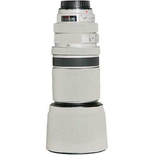 LensCoat Lens Cover for the Canon 100mm f/2.8 Macro Lens (Canon White)