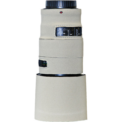 LensCoat Lens Cover for the Canon 100mm f/2.8 L Macro IS Autofocus Lens (White)