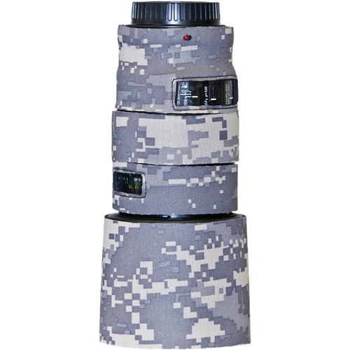 LensCoat Lens Cover for Canon 100mm f/2.8 L Macro IS Autofocus Lens (Digital Army Camo)