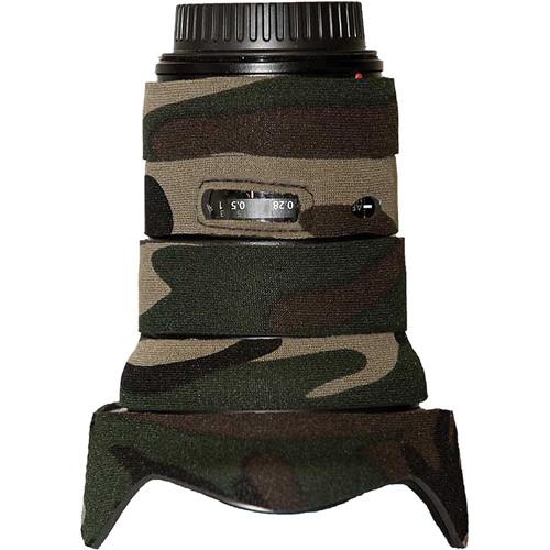 LensCoat Lens Cover for the16-35mm f/2.8L II AF Lens (Forest Green)
