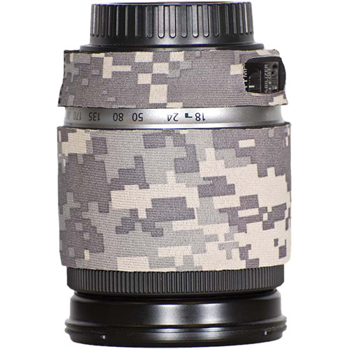 LensCoat Lens Cover for Canon 18-200mm Lens (Digital Army Camo)