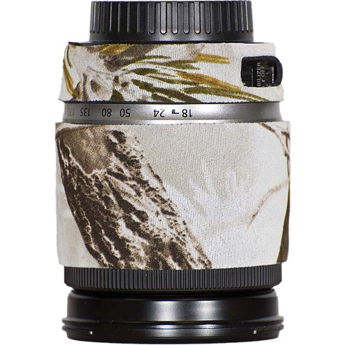 LensCoat Lens Cover for Canon 18-200mm Lens (Realtree AP Snow)