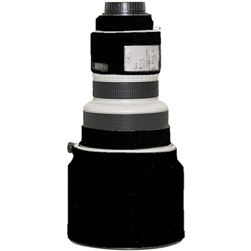 LensCoat Lens Cover for Canon 200mm f/1.8 Lens (Black)