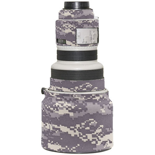 LensCoat Lens Cover for Canon 200mm f/1.8 Lens (Digital Camo)
