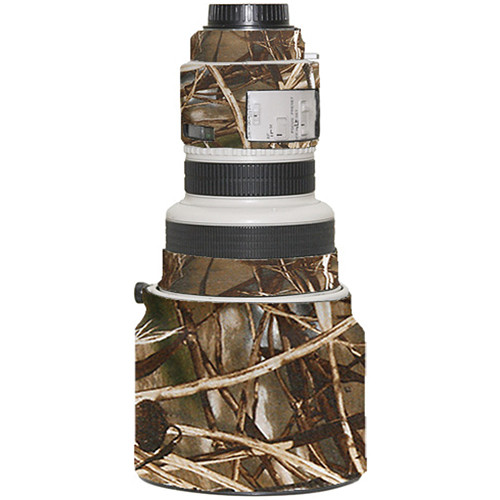 LensCoat Lens Cover for Canon 200mm f/1.8 Lens (Realtree Max4 HD)