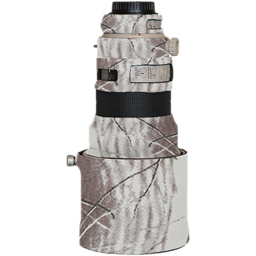 LensCoat Lens Cover for the Canon 200mm f/2 Lens (Realtree AP Snow)
