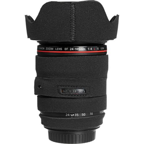 LensCoat Lens Cover for the 24-105mm f/4 IS Lens (Black)