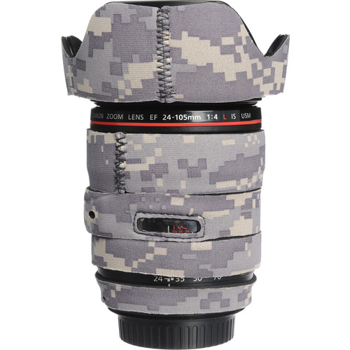 LensCoat Lens Cover for the 24-105mm f/4 IS Lens (Digital Camo)