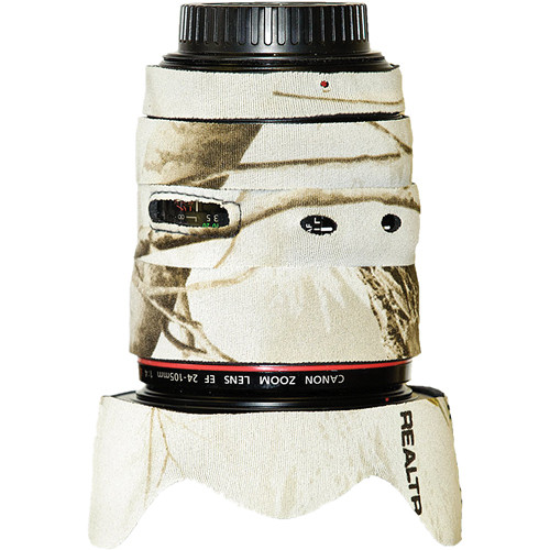 LensCoat Lens Cover for the 24-105mm f/4 IS Lens (Realtree AP Snow)