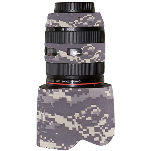 LensCoat Lens Cover for Canon 24-70mm f/2.8L (Digital Camo)
