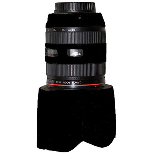 LensCoat Lens Cover for the Canon 24-70mm f/2.8L Lens (Black)