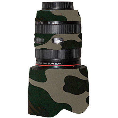 LensCoat Lens Cover for Canon 24-70mm f/2.8L (Forest Green)