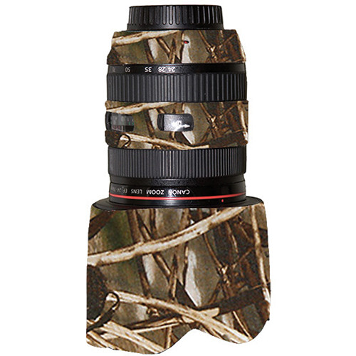 LensCoat Lens Cover for the Canon 24-70mm f/2.8L Lens (Realtree Max4 HD)