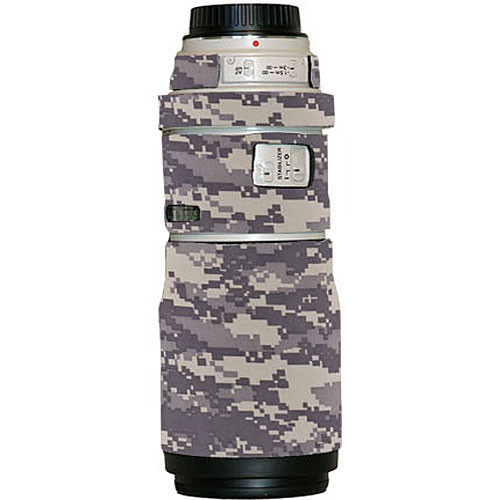 LensCoat Lens Cover for the Canon 300mm f/4 IS Lens (Digital Camo)