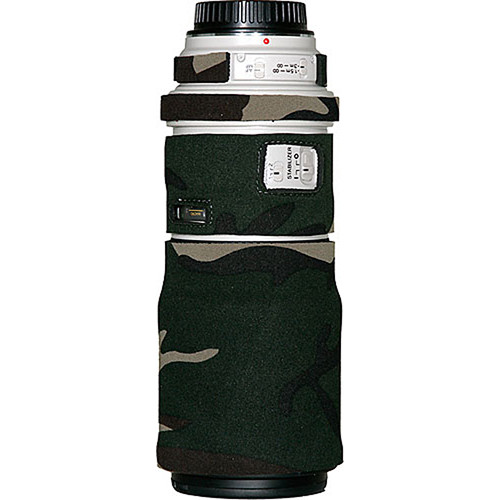 LensCoat Lens Cover for the Canon 300mm f/4 IS Lens (Forest Green)