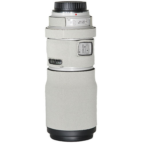 LensCoat Lens Cover for the Canon EF 300mm Non IS f/4 Lens (Canon White)