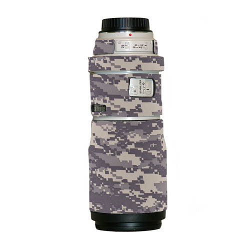 LensCoat Lens Cover for the Canon EF 300mm Non IS f/4 Lens (Digital Camo)