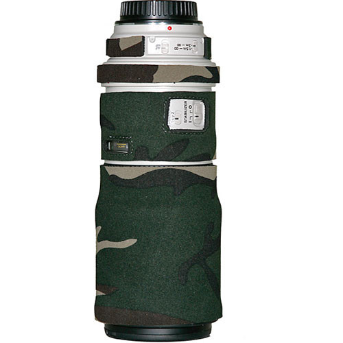 LensCoat Lens Cover for the Canon EF 300mm Non IS f/4 Lens (Forest Green)