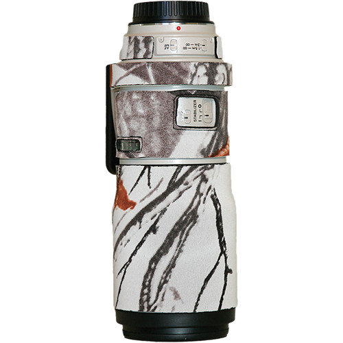 LensCoat Lens Cover for the Canon EF 300mm Non IS f/4 Lens (Realtree AP Snow)