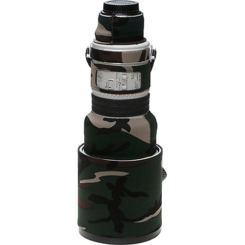 LensCoat Lens Cover for Canon 300mm Non IS f/2.8 Lens (Forest Green Camo)