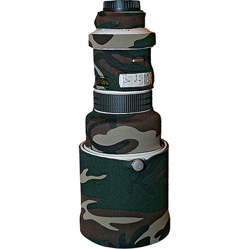 LensCoat Lens Cover for the Canon EF 400mm f/4 DO Lens (Forest Green)