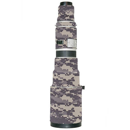 LensCoat Lens Cover for the Canon 500mm f/4.5 Lens (Digital Camo)