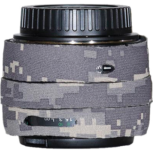 LensCoat Lens Cover for Canon EF 50mm f/1.4 AF Lens (Digital Army Camo)