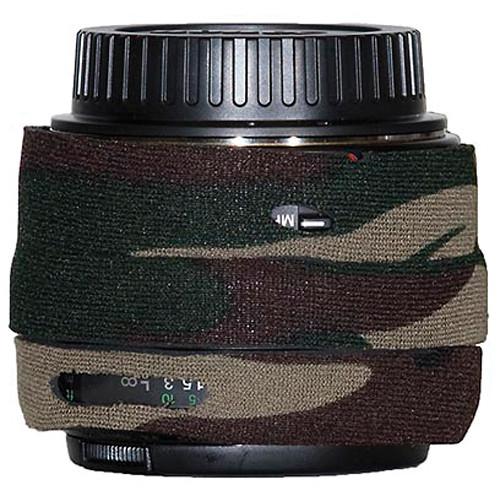 LensCoat Lens Cover for Canon EF 50mm Lens (Forest Green Camo)
