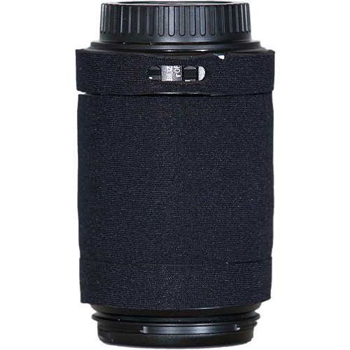LensCoat Lens Cover for Canon 55-250mm f/4.0-5.6 IS AF Lens (Black)
